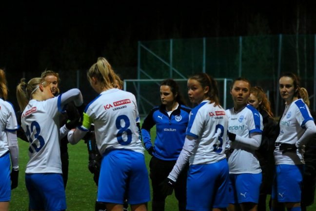 Bildextra: IFK-damerna  kryssade Nittorp