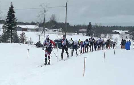 Fyra norrmän i topp i Vasaloppet