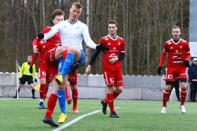 Bildtextra: 3–0 för IFK mot Gislaveds IS