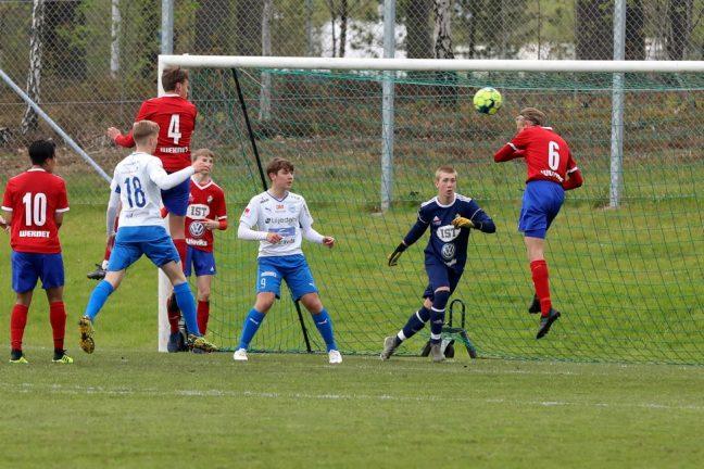 Förlust för IFK Värnamo P 17 i Växjö