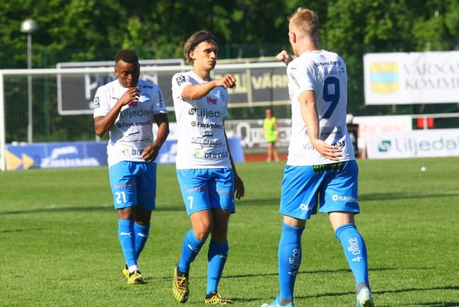 Vindehall blev segerskytt för IFK