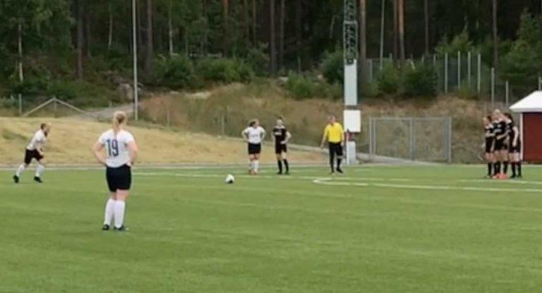 Årets mål av Alicia Bergström – tv-inslag