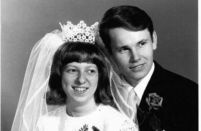 Eva och Stig Andersson – guldbröllop