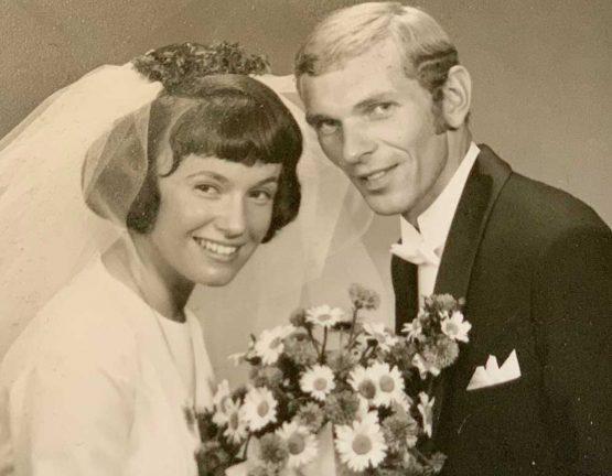 Lisbeth och Rune Fritz firar guldbröllop