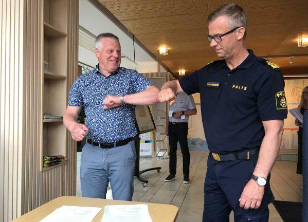 Nytt medborgarlöfte i Värnamo – trygghet viktigt