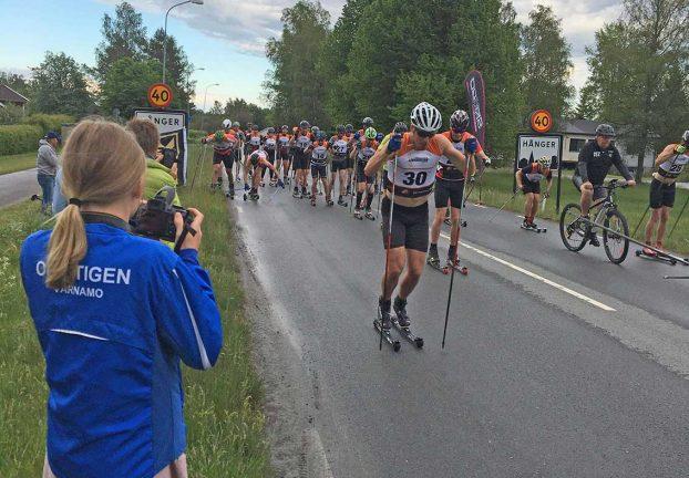 40 träningsåkte kring Hånger – Åminne
