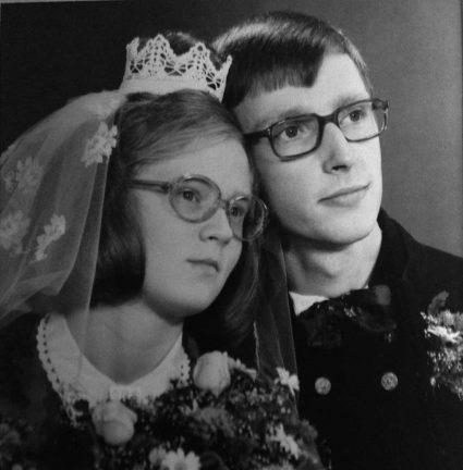 Kerstin och Kenneth Åstrand – guldbröllop