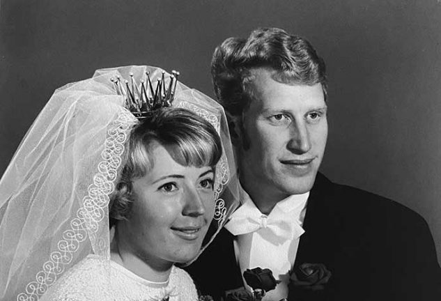 Siw och Åke Karlsson guldbröllop