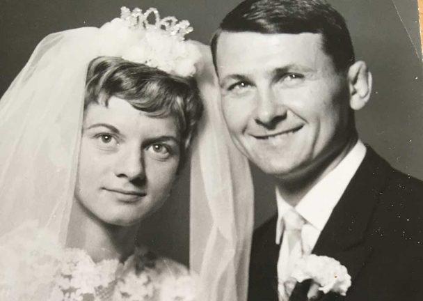 Janos och Eva Kursten firar smaragdbröllop