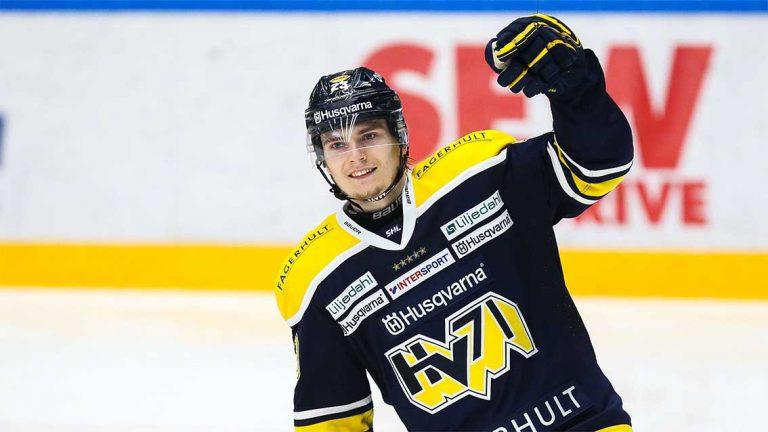 Lias Andersson stannar i HV 71