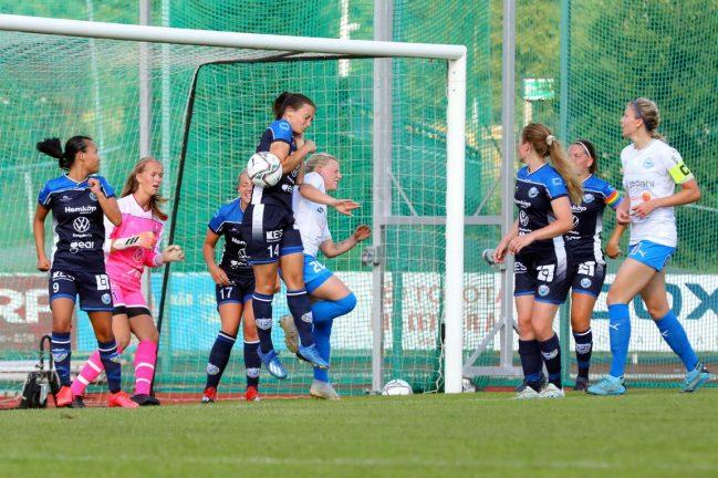 IFK-damerna spelade 1–1