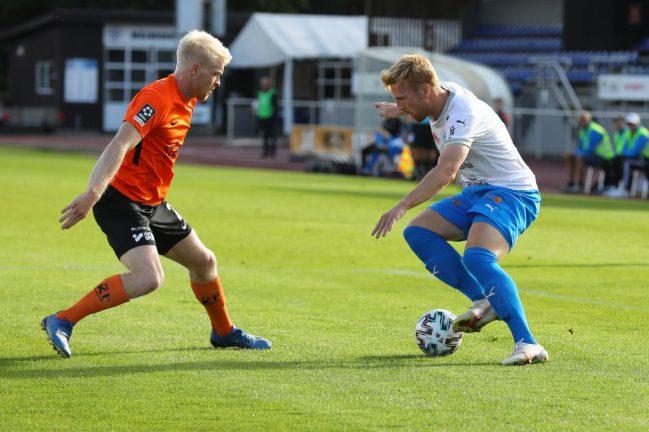 Två IFK-spelare har corona