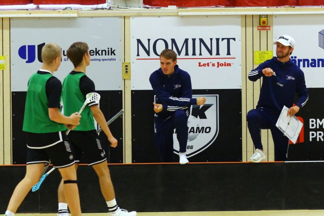 SSL-spelare tränade ungdomslag från Värnamo IK