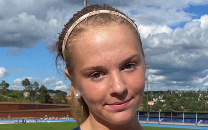 SM-guld och rekord i tresteg för Emma Sandin