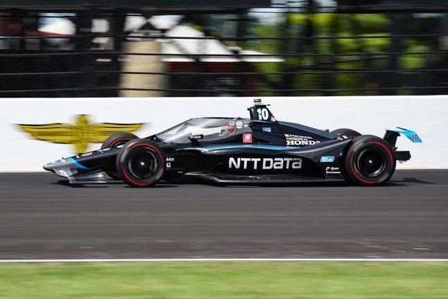 Felix Rosenqvist tolva i Indy 500