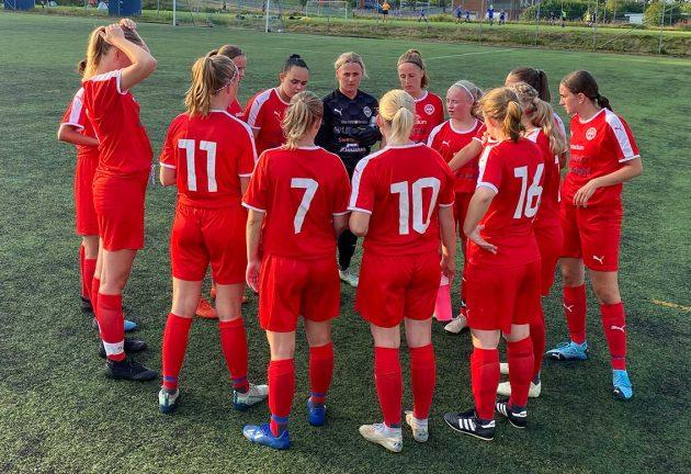 8–0 för IFK dam U