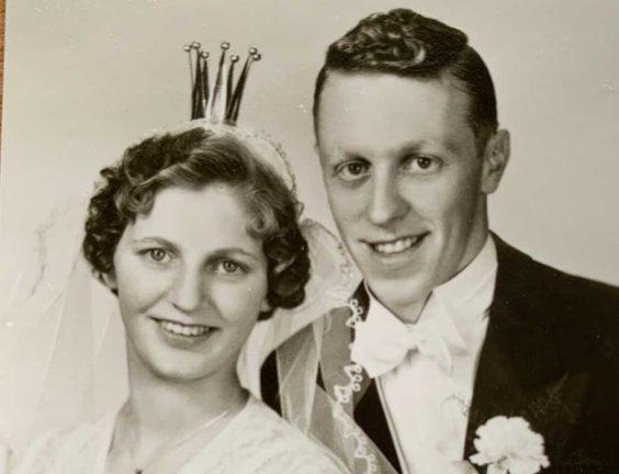 Birgitta och Wide firar krondiamantbröllop