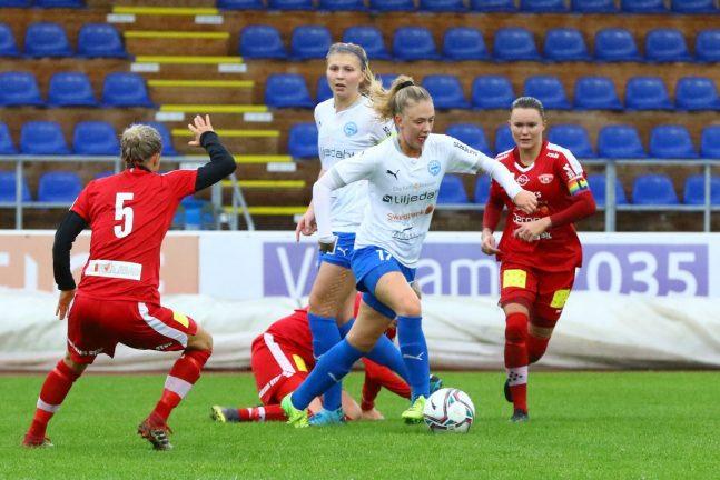 IFK-dam ägde spelet men föll stort