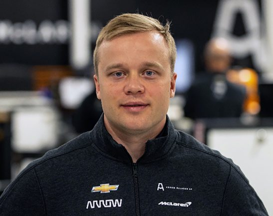 Felix klar för Arrow McLaren SP