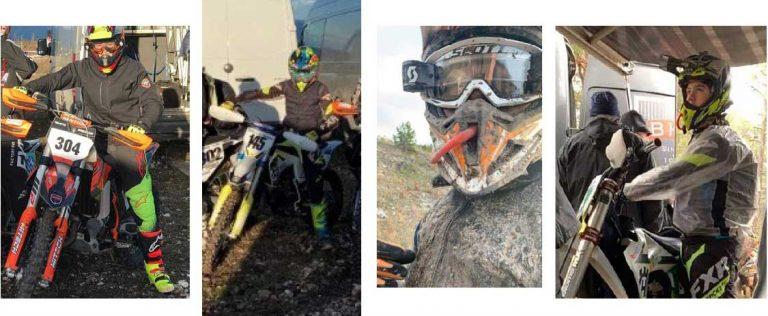 15 från SMK tävlade i leran på Gotland