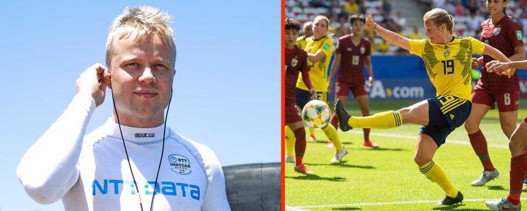 Rosenqvist och Anvegård nominerade till Idrottsgalan
