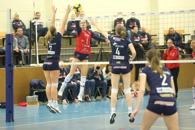 Bildextra: Värnamo Volley tog set mot Gislaved