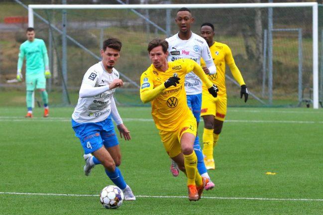 IFK vann över Järdlers Mjällby