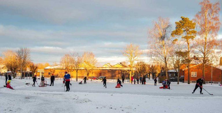 Bildextra: Ideellt arbete bakom is i Rydaholm