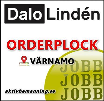Orderplockare till Dalo Lindén i Värnamo