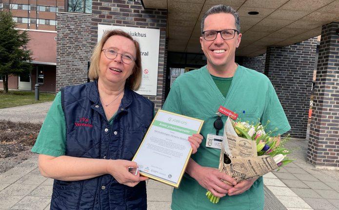 IVA-kliniken är Årets yrkesinspiratör
