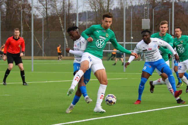 Bildextra: Knapp IFK-förlust mot J-Södra