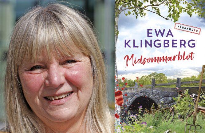 Ewa Klingberg – författaren som sätter Värnamo på kartan