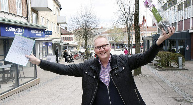 Bengt är Årets Värnamobo 2020