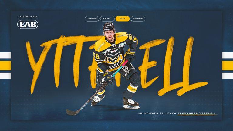 Alexander Ytterell återvänder till HV71