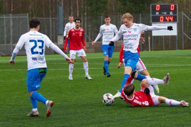Bildextra: Knapp förlust för IFK U 21