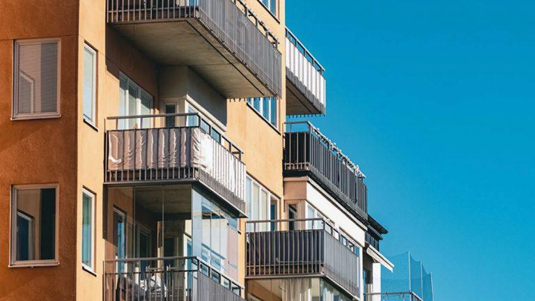Stor prisuppgång på bostadsrätter