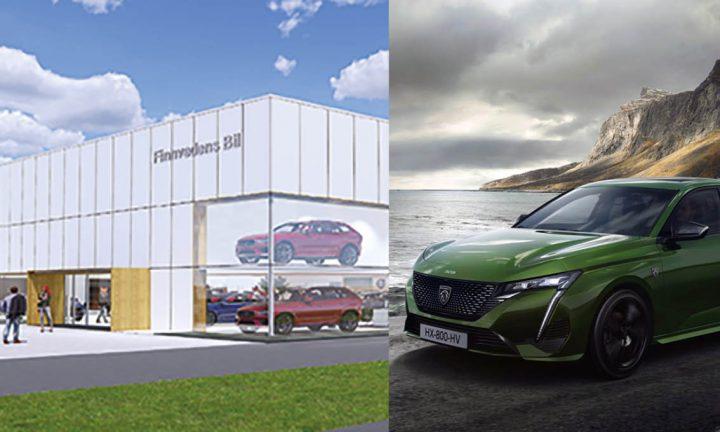 Finnvedens Bil utökar med Peugeot i Värnamo