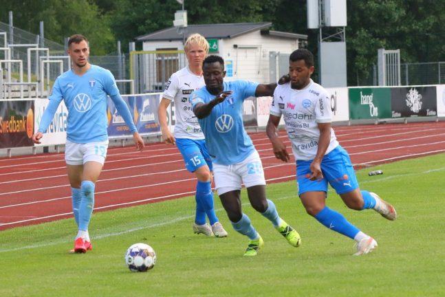 Bildextra: IFK U 21 mötte starkt MFF