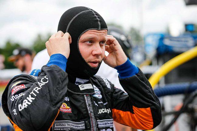 Tuff återkomst för Felix Rosenqvist