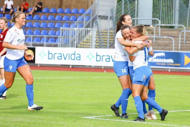 Tio magiska minuter för IFK-damerna