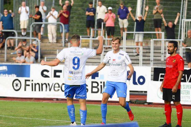 Bildextra: IFK Värnamo – Vasalund  1–0 slut
