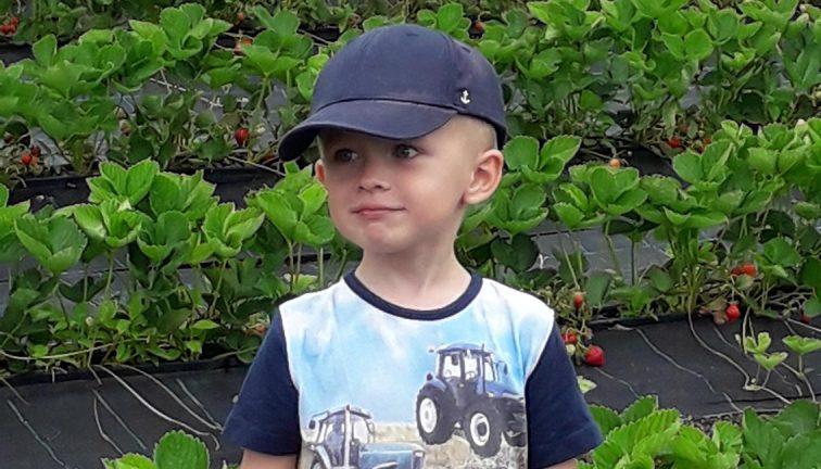 Elias Andersson 4 år