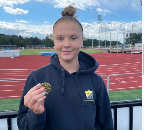Guld i höjdhopp för Emma Sandin