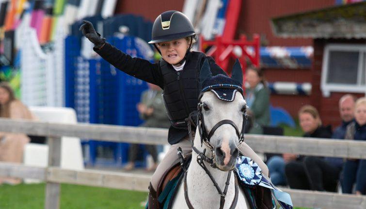 Dubbla framgångar för 9-åriga Milwa