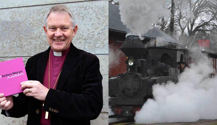 Biskopsföredrag och tågtur – kyrka jubilerar
