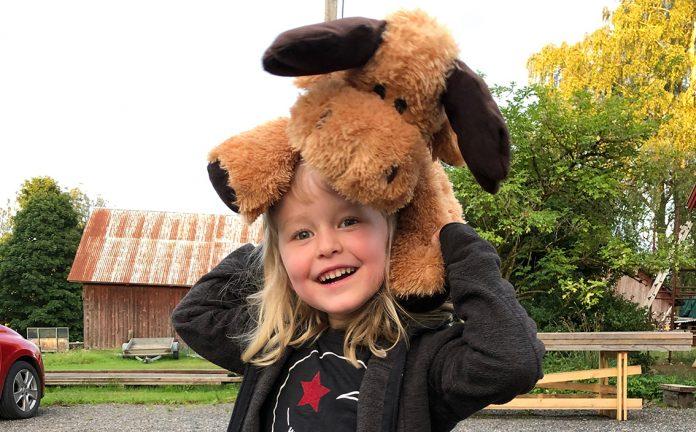 Astrid Sandberg 4 år