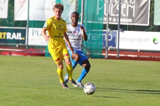 Bildextra: IFK U 21 föll stort