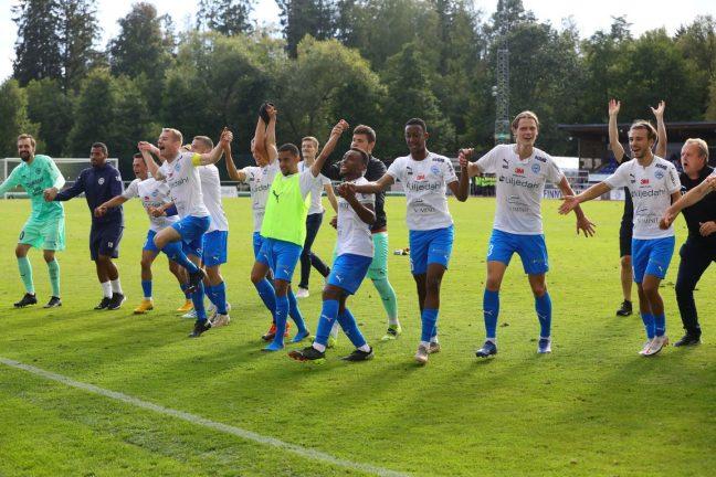 Dubbla vinster för IFK