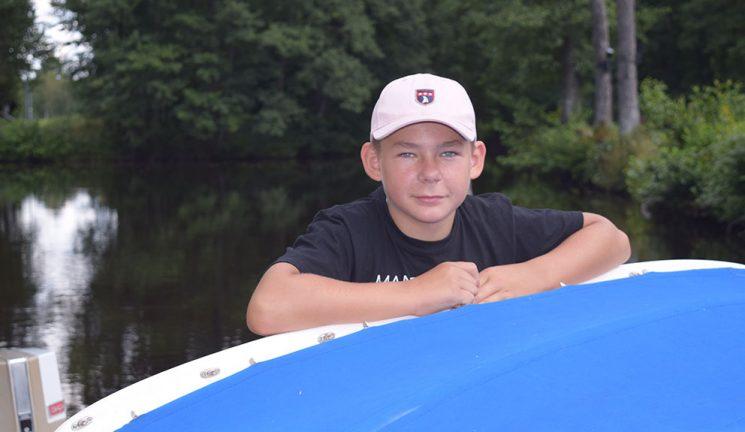 Olles sommarprojekt – renoverade sin egna båt