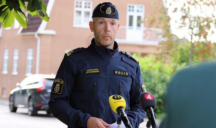 Polisen: Den avlidne mannen ingick i kriminellt nätverk
